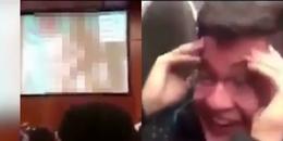 Vô tình chiếu phim khiêu dâm trong buổi giảng, giáo sư khiến 500 sinh viên sốc nặng