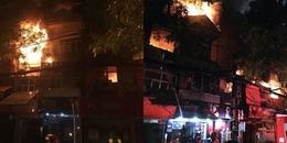 Hà Nội: 'Bà hỏa' ghé thăm, nhiều ngôi nhà trên phố Đê La Thành đồng loạt cháy lớn