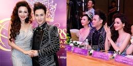 Hoa hậu Diễm Hương khoe nhan sắc khác lạ bên Nguyên Vũ ở Malaysia