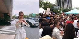 Bị fan vây kín khi biểu diễn tại Hàn Quốc, CDM không ngờ Mỹ Tâm lại nổi tiếng đến mức này