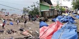 Sóng thần và động đất kinh hoàng, số người chết ở Indonesia tăng vọt lên hơn 800