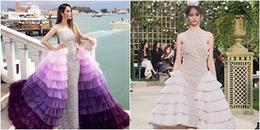 Xôn xao nghi án chiếc váy lộng lẫy của Lý Nhã Kỳ đạo nhái thương hiệu Chanel