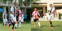 David Trezeguet ghi bàn, Juventus Academy giành thắng lợi 3-2 trước CLB nghệ sĩ
