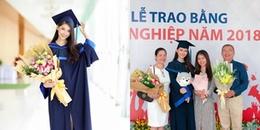 Vừa hết nhiệm kì, Á hậu Thùy Dung rạng rỡ trong ngày Tốt nghiệp Đại học Ngoại thương