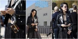 Không được vào xem show Dior, Khánh Linh vẫn 'khí chất ngời ngời' trên báo quốc tế