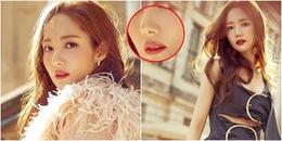 Park Min Young xuất hiện với chiếc mũi biến dạng, lỗi dao kéo hay do photoshop ẩu?