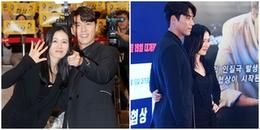 'Chị đẹp' Son Ye Jin làm hành động khó hiểu với bạn diễn tại họp báo khiến fan bấn loạn