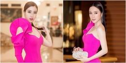 Vừa hết nhiệm kì Hoa hậu, Đỗ Mỹ Linh đã 'đụng độ' váy áo với Angela Phương Trinh