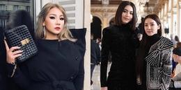 Dara đọ sắc với 'ma nữ' Davika, CL lại khoe trọn vòng 1 'đốt mắt' ở Paris Fashion Week 2018