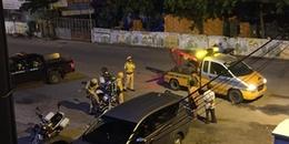 TP.HCM: Thanh niên tông CSGT rồi bỏ chạy lên tòa nhà cao tầng nhảy lầu nguy kịch