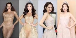 Muốn váy cũ trở nên mới mẻ hãy học hỏi chiêu biến hóa của 'Hoa hậu nghèo' Đỗ Mỹ Linh