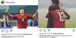 Sau thất bại, các cầu thủ Olympic Việt Nam đồng loạt gửi lời 'cảm ơn và xin lỗi' tới người hâm mộ