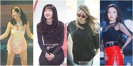 Loạt nữ thần tượng K-pop tăng cân 'không phanh' khiến fan nhiều phen hoảng hốt