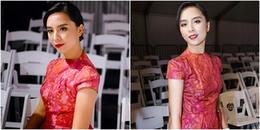 Á hậu Dương Trương Thiên Lý giản dị dự Vancouver Fashion Week 2018