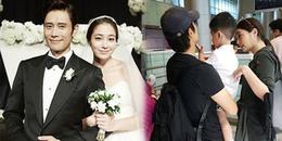 Lộ ảnh 'nam thần tương lai' - con trai Lee Byung Hun và Lee Min Jung sau ba năm giấu kỹ quá kỹ