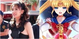 Sau những tranh cãi về việc ăn uống, Hari Won gây chú ý với kiểu tóc 'Sailor Moon' tại sự kiện
