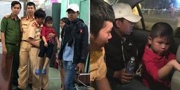 CSGT TP.HCM giúp bé 5 tuổi bị lạc tìm thấy mẹ trong đêm bắn pháo hoa mừng lễ Quốc Khánh