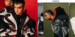 Chàng stylist của Phạm Hương bất ngờ xuất hiện trên tạp chí thời trang đình đám nước Ý