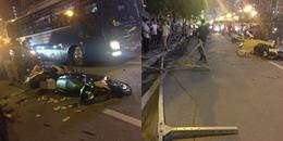 Hà Nội: Người phụ nữ tử vong tại chỗ khi bị thanh sắt từ nhà cao tầng đang xây dựng rơi trúng