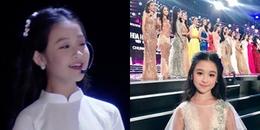 """Xuất hiện vài giây tại Hoa hậu Việt Nam 2018, bé gái được CĐM dự đoán """"10 năm sau sẽ là Hoa hậu"""""""