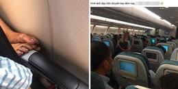 Gác hẳn đôi chân 'ngàn năm chưa rửa' lên ghế trước máy bay, cô gái bị CĐM 'ném đá' tới tấp