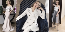 Châu Bùi thể hiện trình độ đỉnh cao của fashionista trong thiết kế mới toanh của Công Trí