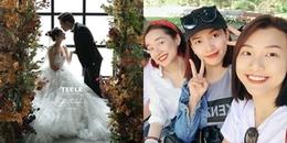 Hé lộ dàn phụ dâu xinh ngất trong đám cưới Trường Giang - Nhã Phương