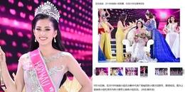 Đến truyền thông và netizen xứ Trung cũng phát cuồng nhan sắc của Hoa hậu Trần Tiểu Vy