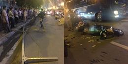 Hà Nội: Hé lộ nguyên nhân cần trục rơi xuống đường khiến 1 người phụ nữ tử vong tại chỗ