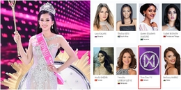 Vừa đăng quang, Hoa hậu Trần Tiểu Vy đã xuất hiện trên trang chủ Miss World 2018