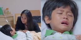 Không thể kìm nước mắt với tình cảnh bi đát của mẹ con Hương