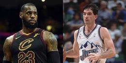 LeBron James và những cầu thủ làm mất bóng nhiều nhất trong lịch sử NBA