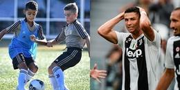 Ra mắt đội U9 Juventus, con trai Ronaldo xuất sắc lập cú poker