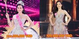 Bóc giá trang phục lúc đăng quang của Hoa hậu, Á hậu Việt Nam 2018