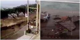 Sóng thần và động đất 'tấn công' Indonesia: Số người thiệt mạng đã lên đến con số gần 400