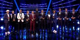 Đội hình hay nhất năm do FIFA bình chọn: Người Real lại áp đảo, lần đầu cho Kante và Hazard