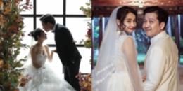 Không còn chờ đợi nữa, ảnh cưới đầu tiên của Trường Giang - Nhã Phương đã lộ diện