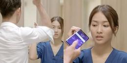 Khả Ngân - Song Luân phải quay bao lần mới được cảnh hất điện thoại?