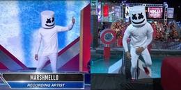 DJ bí ẩn nhất thế giới Marshmello đi thi Sasuke bản Mỹ vẫn chụp mũ sùm sụp và cái kết khó tin