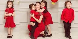 Fan 'tan chảy' với độ đáng yêu bộ ảnh đón Trung Thu sum vầy của 3 mẹ con Elly Trần
