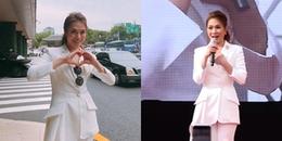 Mỹ Tâm 'chém gió' tiếng Hàn siêu dễ thương tại xứ kim chi khiến fan 'phát cuồng'