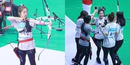 Irene bắn cung vỡ cả camera của nhà đài nhưng lại được tung hô như công thần tại ISAC 2018