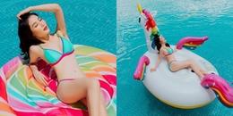 Đã lâu không diện bikini, Diễm My 9X 'đốn tim' người hâm mộ với bộ ảnh vô cùng nóng bỏng