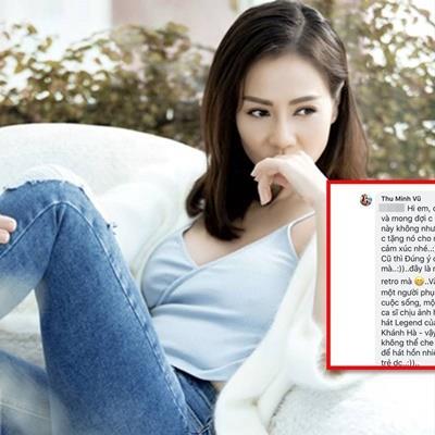 Phản ứng của Thu Minh khi bị khán giả chê hát ballad cũ kỹ khiến CĐM ngỡ ngàng