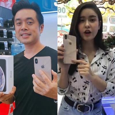 Những sao Việt đầu tiên sở hữu siêu phẩm Iphone Xs max với giá cao ngất
