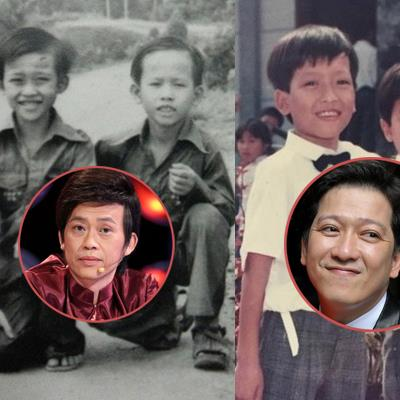 Những hình ảnh thời thơ ấu đáng yêu của các danh hài Việt