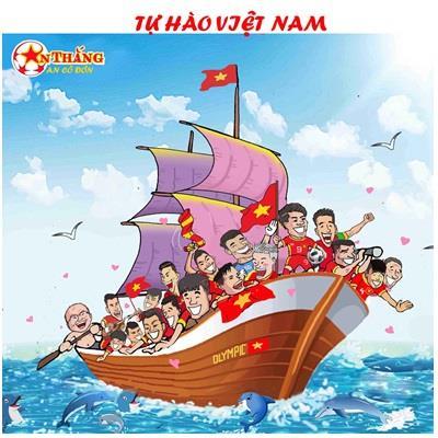 Ngộ nghĩnh với bộ tranh hành trình lịch sử của Olympic Việt Nam tại ASIAD 2018