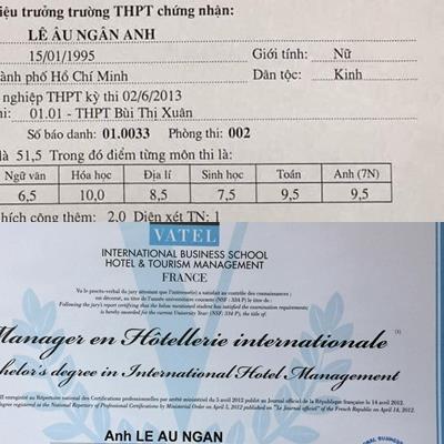 yan.vn - tin sao, ngôi sao - Giữa ồn ào điểm thi của Trần Tiểu Vy, lộ bảng điểm tốt nghiệp cực sốc của Lê Âu Ngân Anh