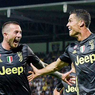 Serie A 2018/19 sau vòng 5: Ronaldo ghi bàn thắng thứ 3; Higuain không thể giúp Milan có 3 điểm