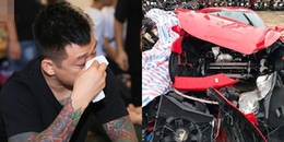 Bị xúc phạm vụ tai nạn bẹp dí đầu siêu xe 16 tỷ, Tuấn Hưng cảnh cáo anti-fan: 'Bố giết mày'